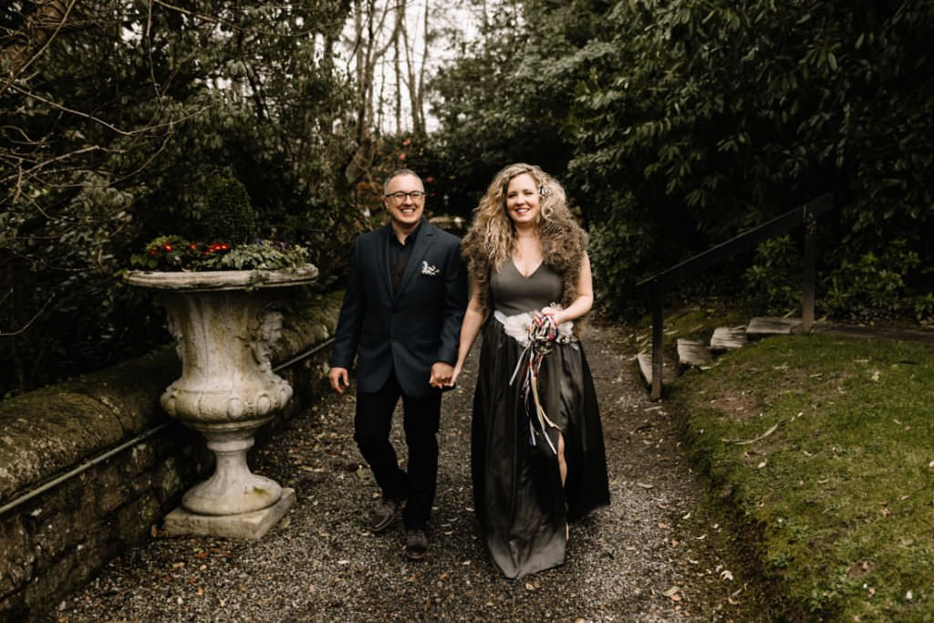 035 waterford castle wedding photographer ireland elopement