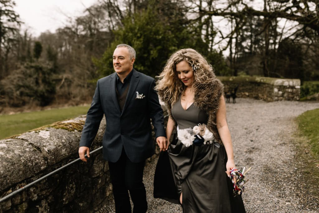 036 waterford castle wedding photographer ireland elopement