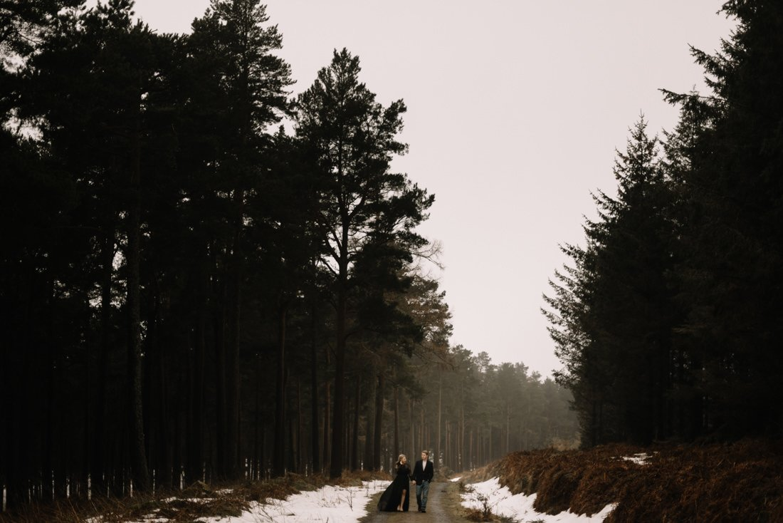 040 a snowy winter anniversary session in wicklow mountains wedding photographer dublin