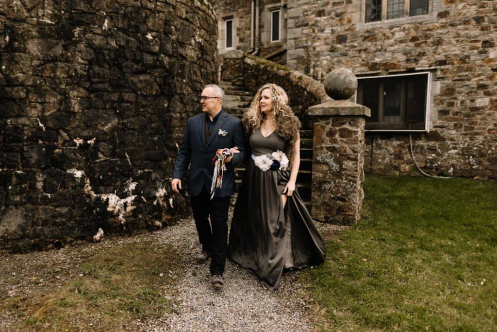 041 waterford castle wedding photographer ireland elopement