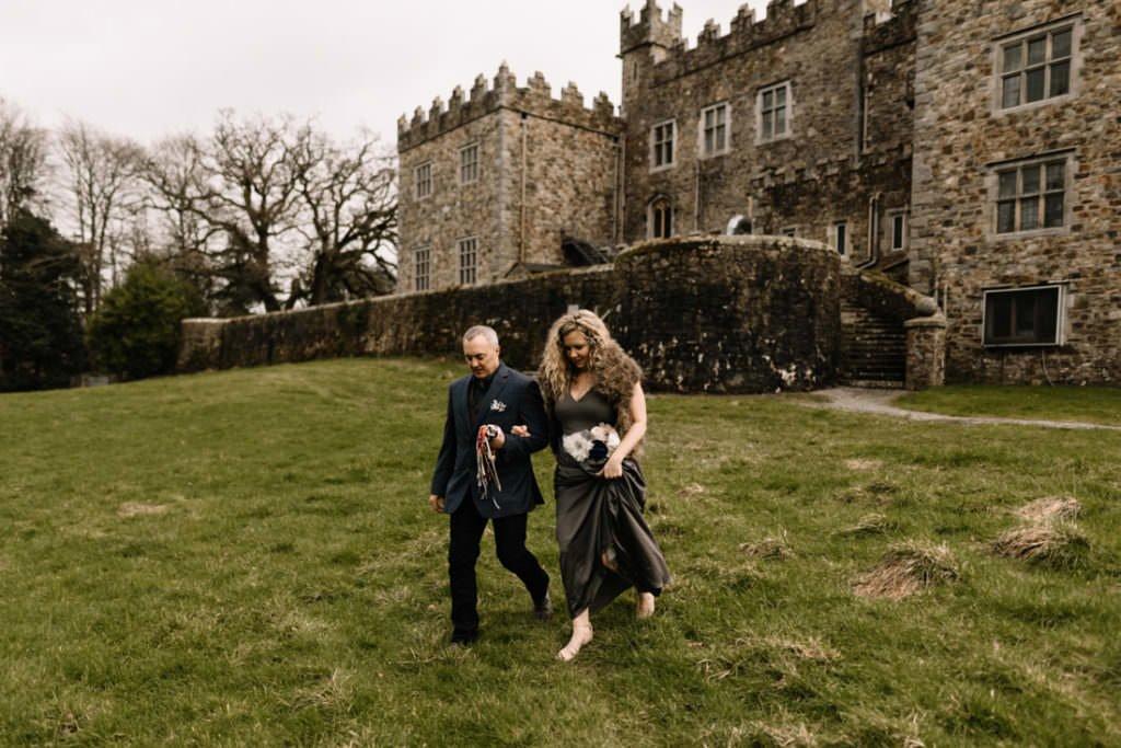 042 waterford castle wedding photographer ireland elopement