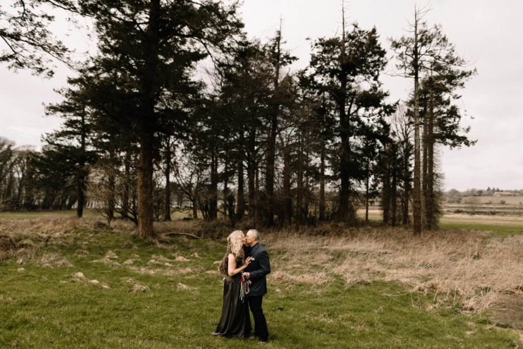 044 waterford castle wedding photographer ireland elopement