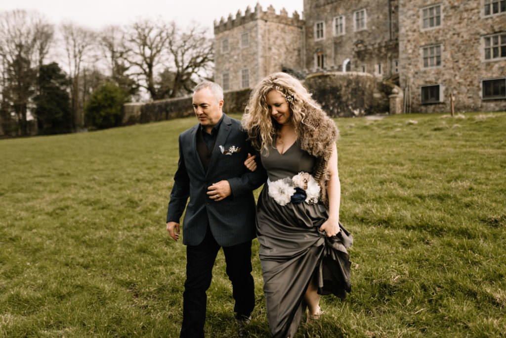 055 waterford castle wedding photographer ireland elopement