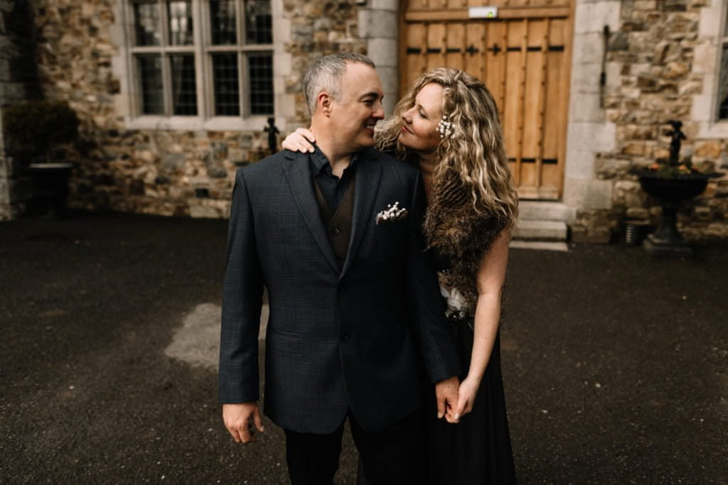062 waterford castle wedding photographer ireland elopement