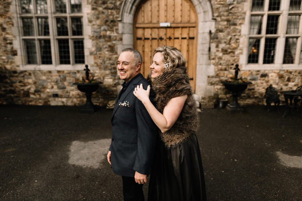 063 waterford castle wedding photographer ireland elopement