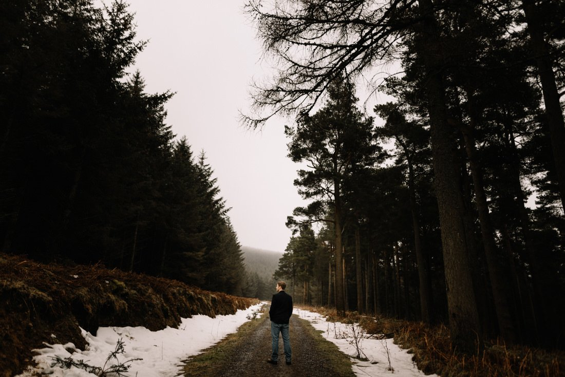 067 a snowy winter anniversary session in wicklow mountains wedding photographer dublin