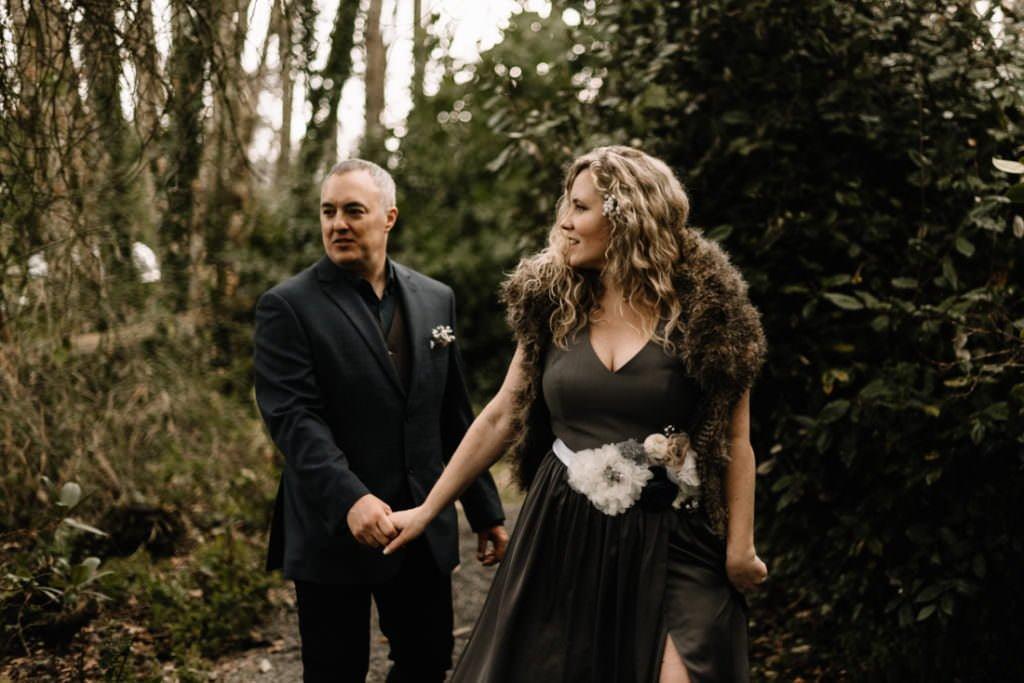 068 waterford castle wedding photographer ireland elopement