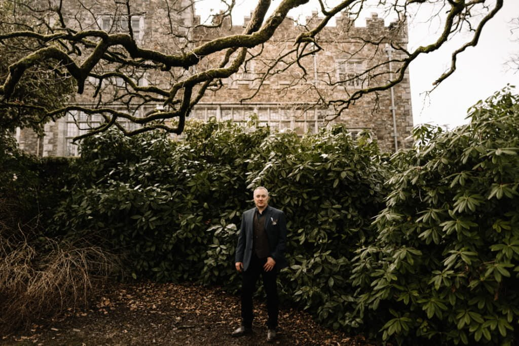 073 waterford castle wedding photographer ireland elopement