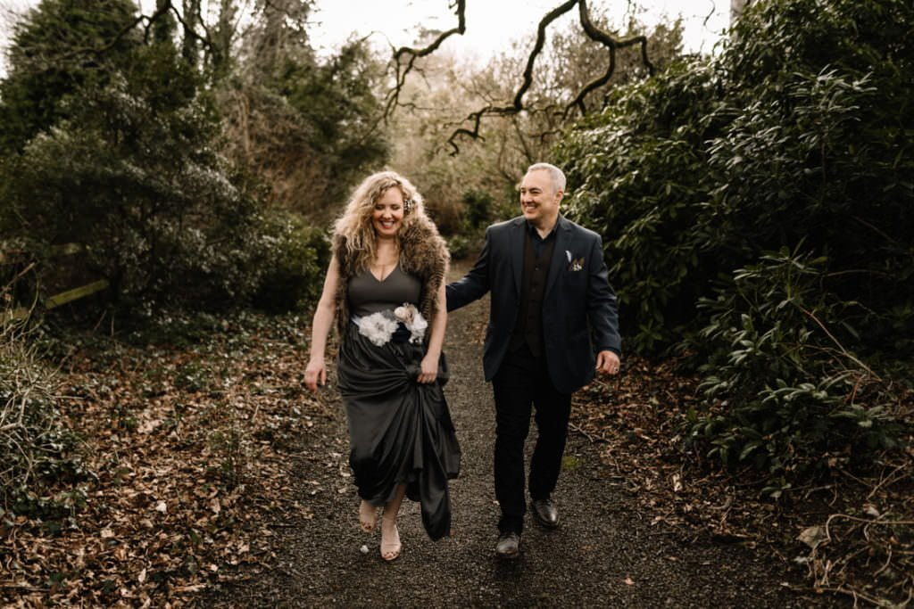 076 waterford castle wedding photographer ireland elopement