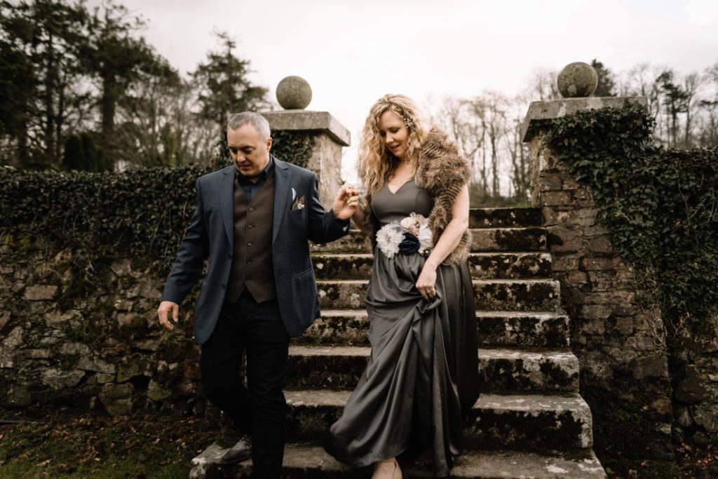 079 waterford castle wedding photographer ireland elopement