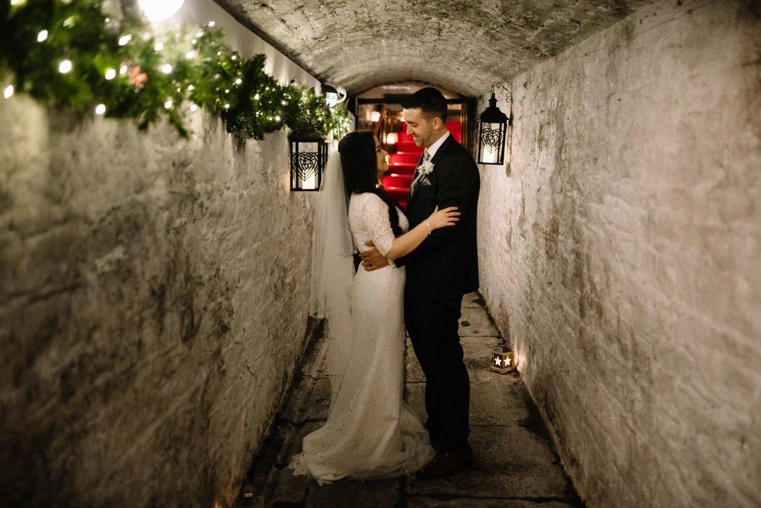 Boyne Hill House Estate Winter Wedding