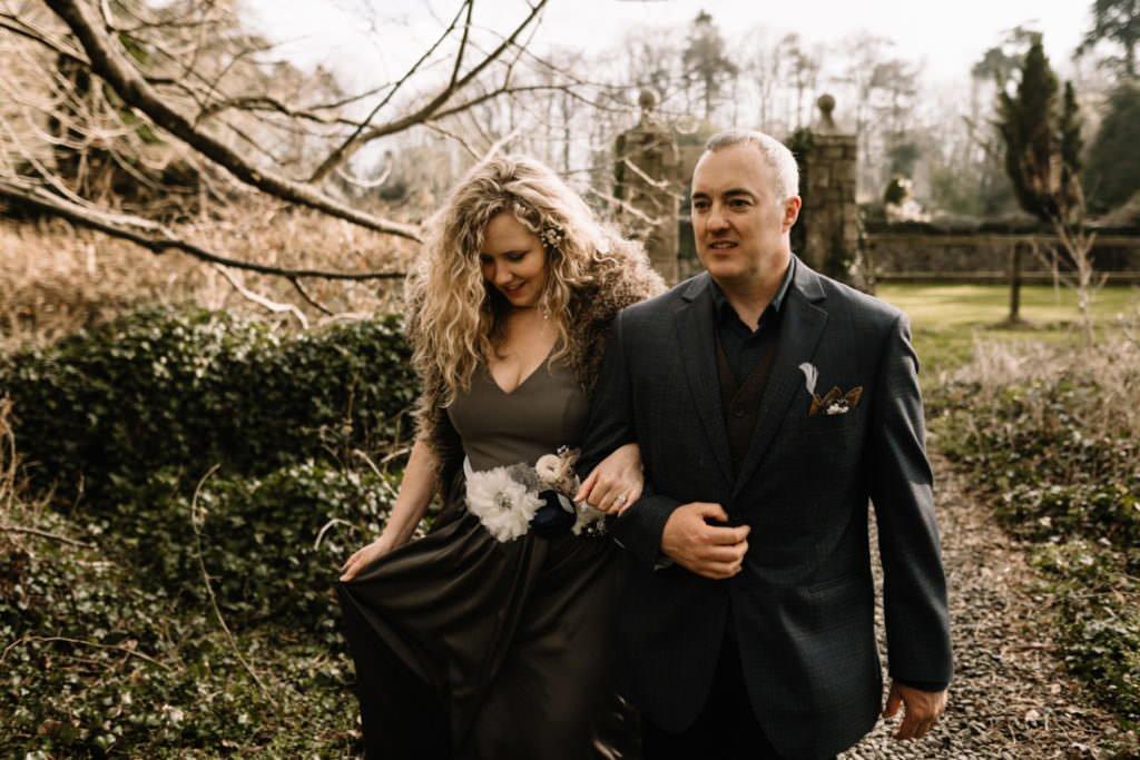 085 waterford castle wedding photographer ireland elopement