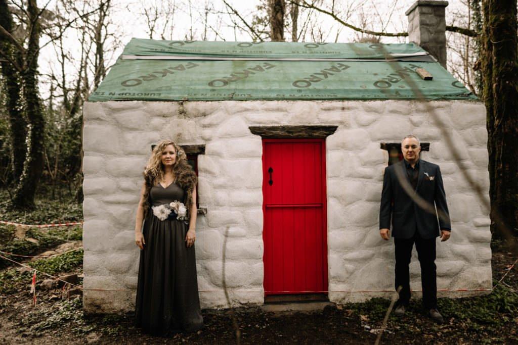 091 waterford castle wedding photographer ireland elopement