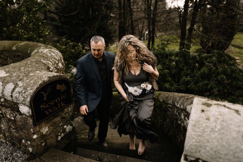 105 waterford castle wedding photographer ireland elopement