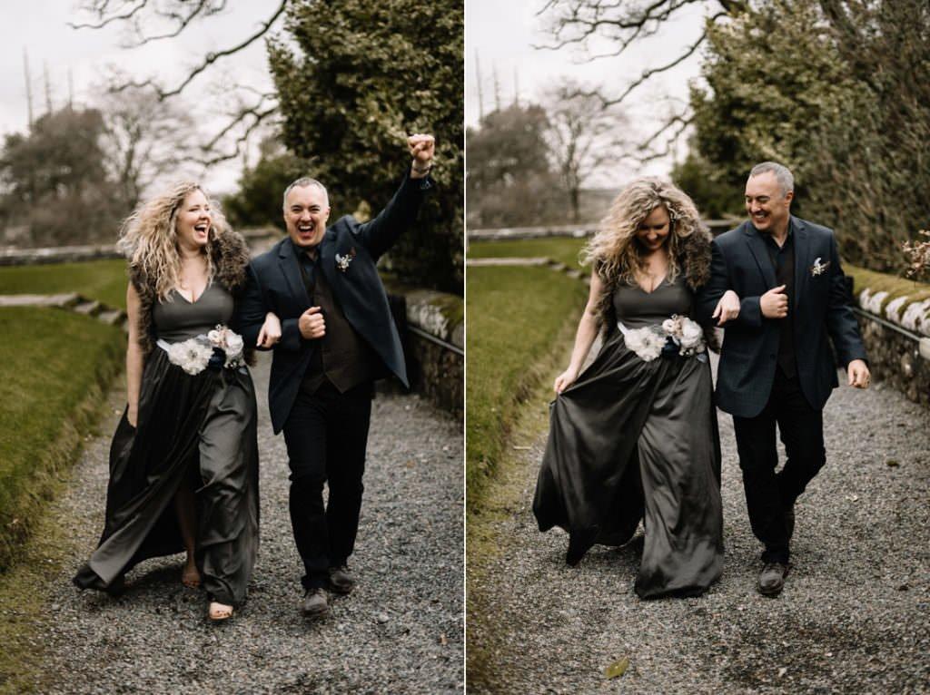 107 waterford castle wedding photographer ireland elopement