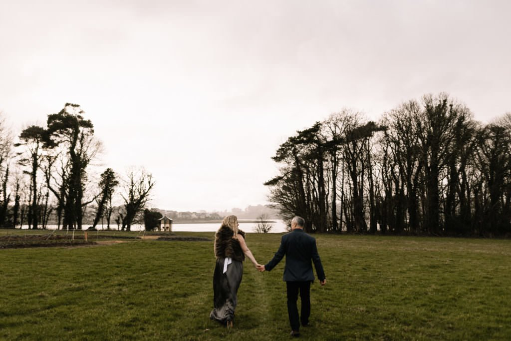 116 waterford castle wedding photographer ireland elopement