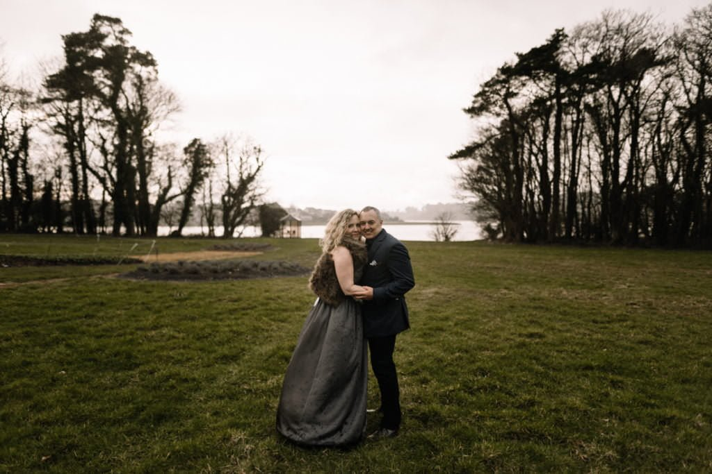 118 waterford castle wedding photographer ireland elopement