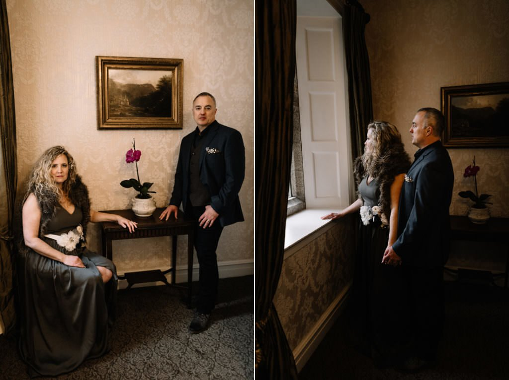 126 waterford castle wedding photographer ireland elopement