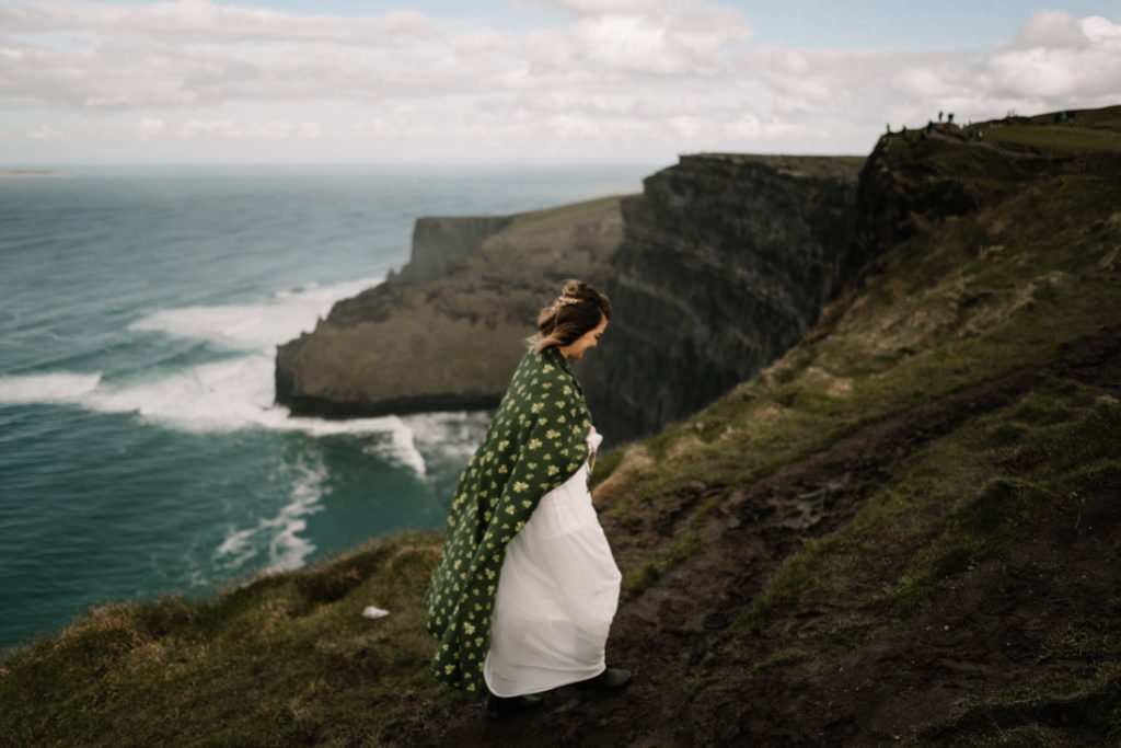 043 cliffs of moher elopement wedding photographer doolin
