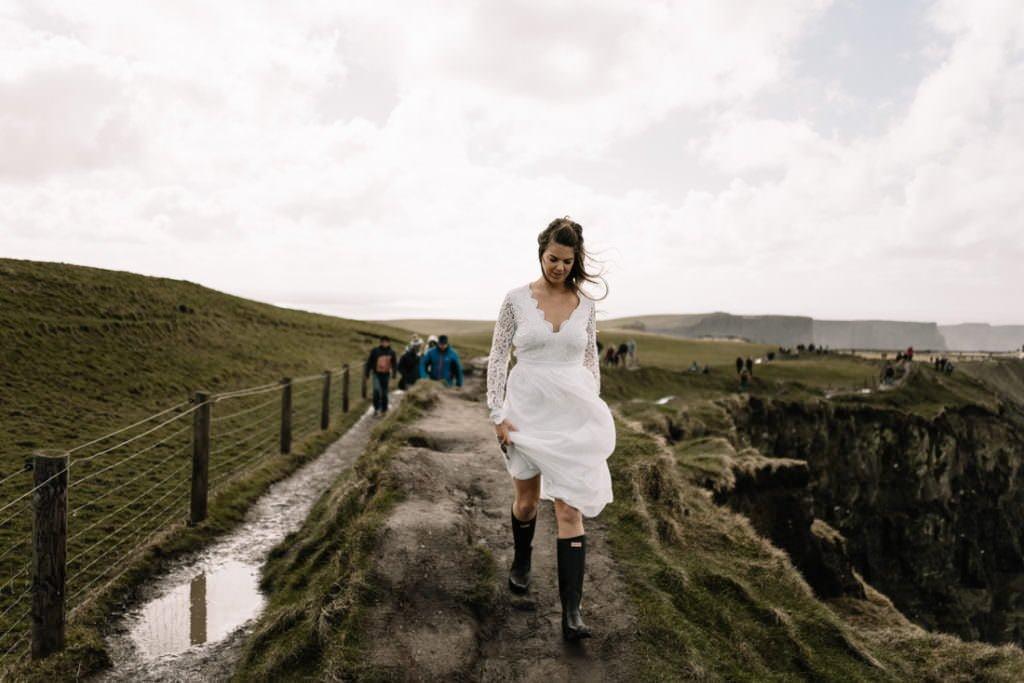 044 cliffs of moher elopement wedding photographer doolin
