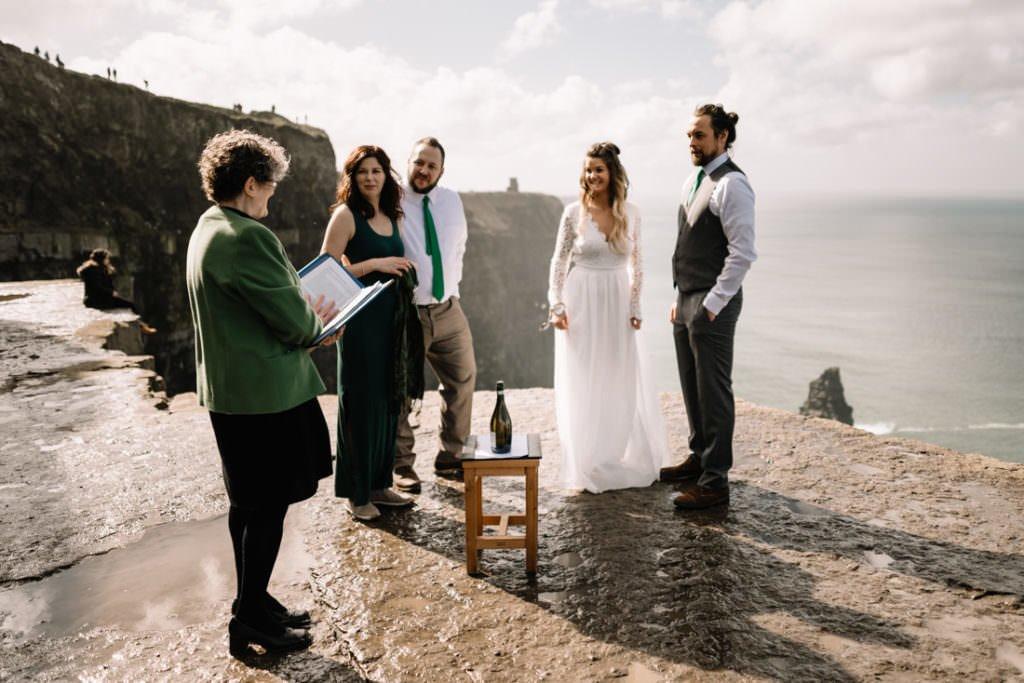 049 cliffs of moher elopement wedding photographer doolin