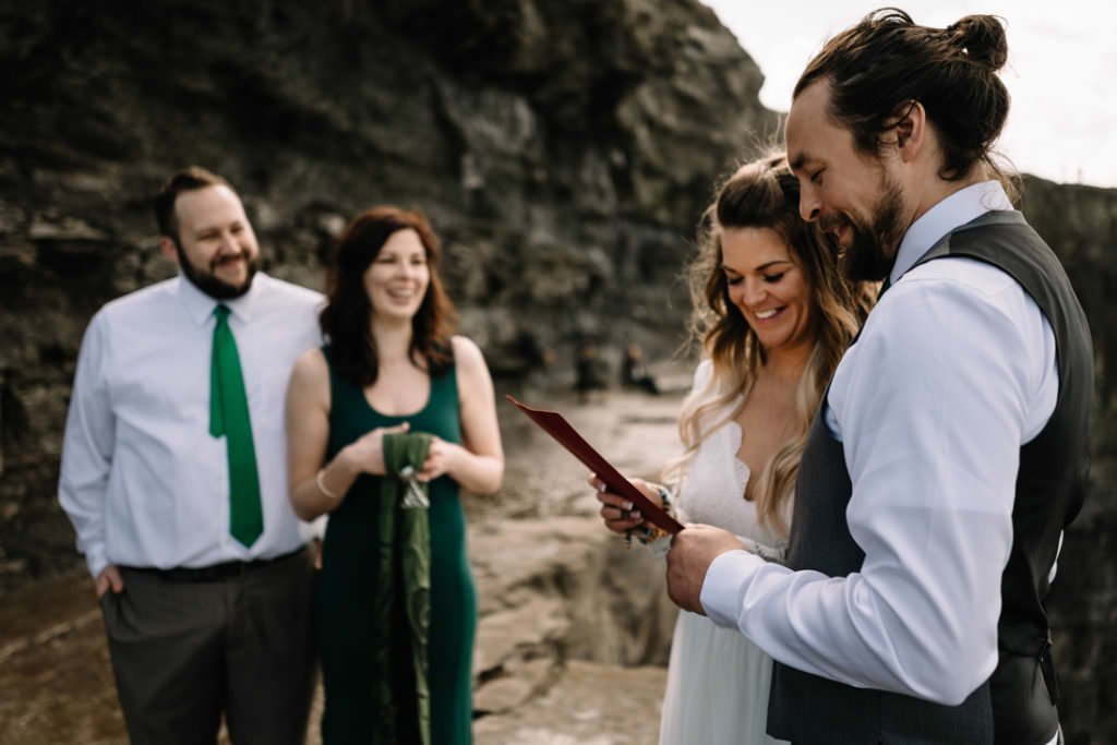 056 cliffs of moher elopement wedding photographer doolin