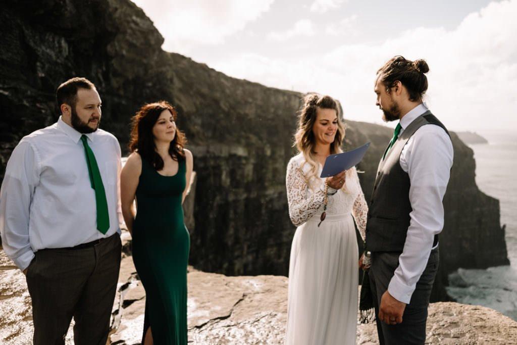 068 cliffs of moher elopement wedding photographer doolin