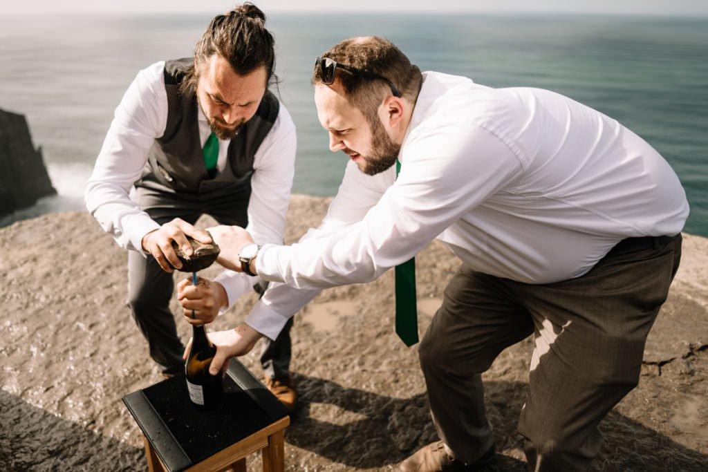 072 cliffs of moher elopement wedding photographer doolin