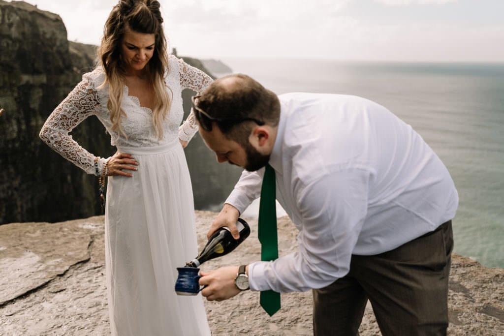 074 cliffs of moher elopement wedding photographer doolin