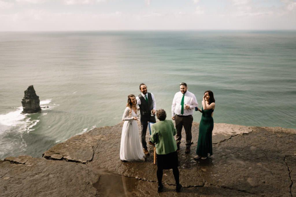 078 cliffs of moher elopement wedding photographer doolin