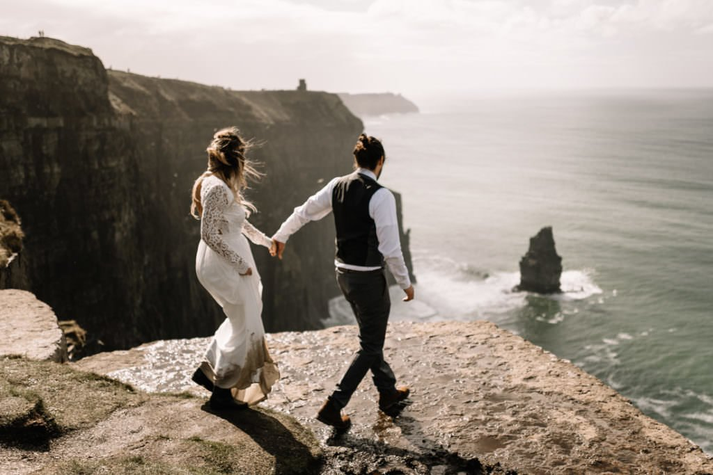 103 cliffs of moher elopement wedding photographer doolin