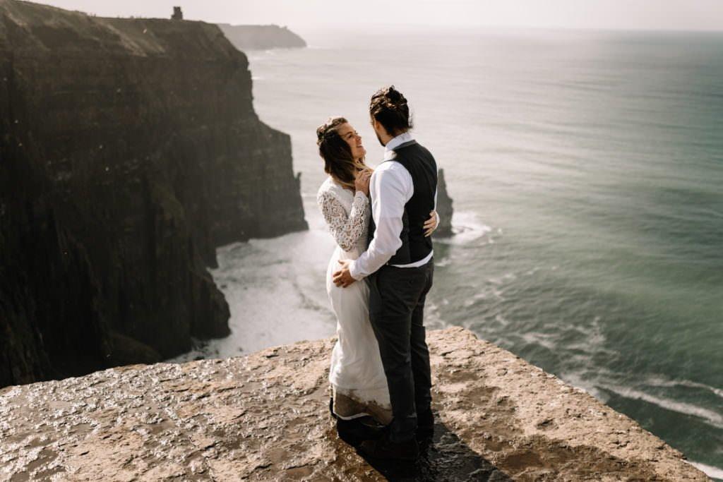 104 cliffs of moher elopement wedding photographer doolin