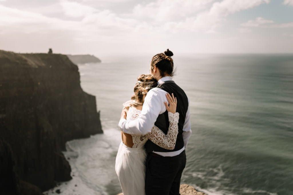 105 cliffs of moher elopement wedding photographer doolin