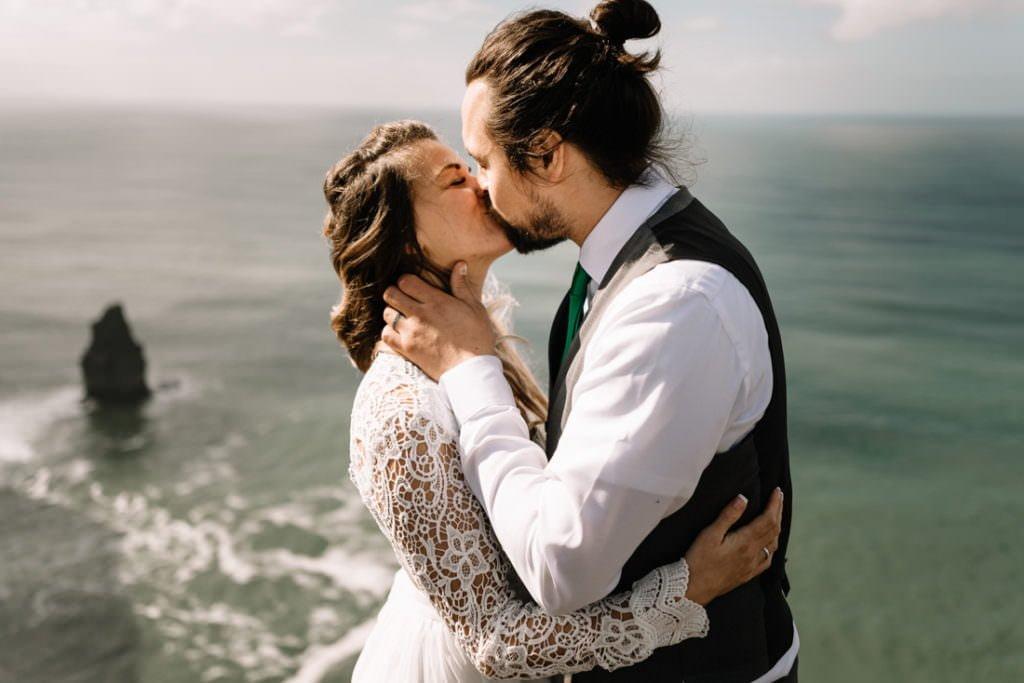 106 cliffs of moher elopement wedding photographer doolin