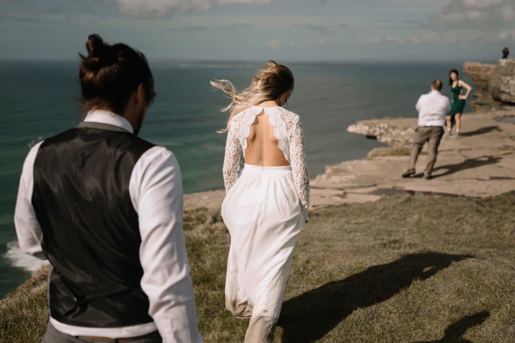 110 cliffs of moher elopement wedding photographer doolin
