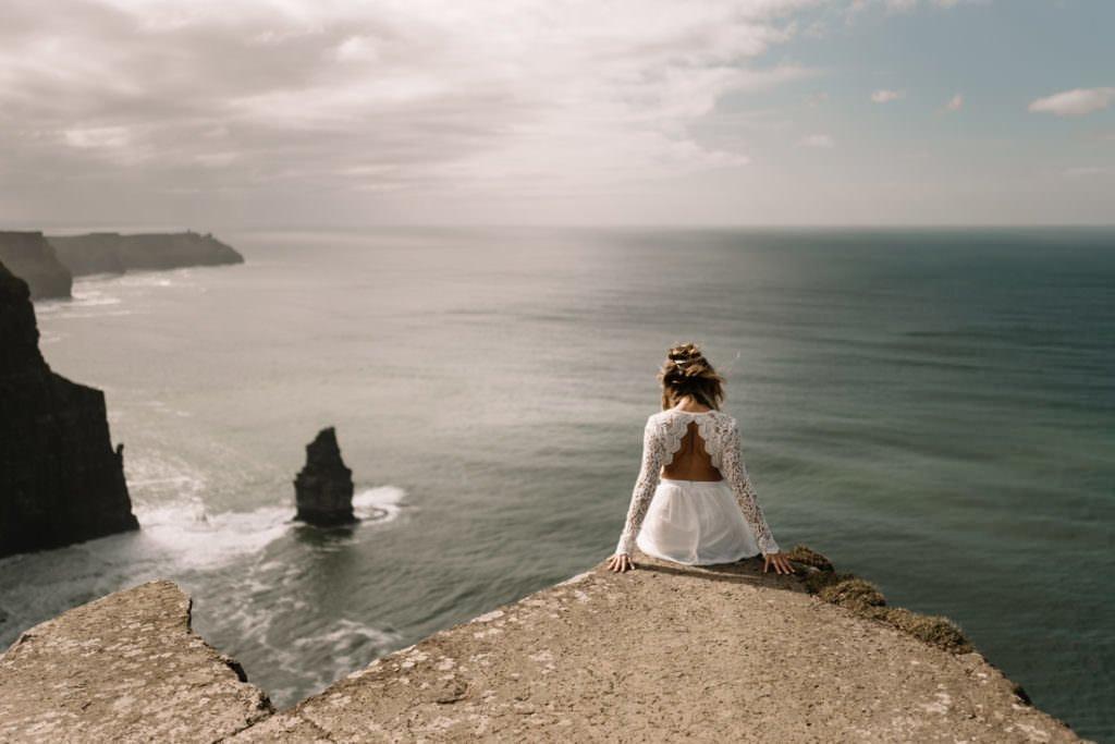 111 cliffs of moher elopement wedding photographer doolin