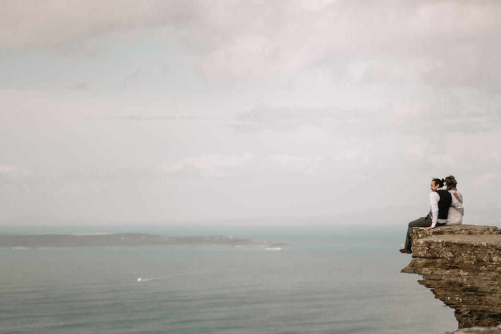 119 cliffs of moher elopement wedding photographer doolin