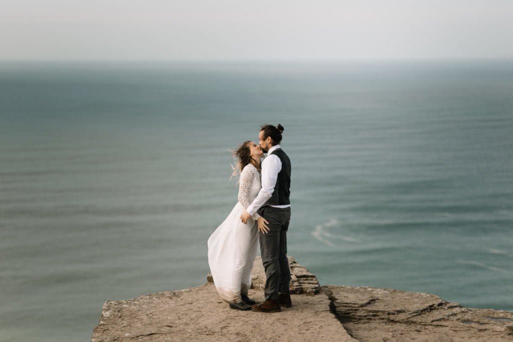 120 cliffs of moher elopement wedding photographer doolin