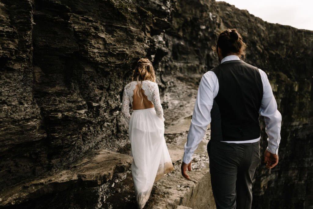 126 cliffs of moher elopement wedding photographer doolin