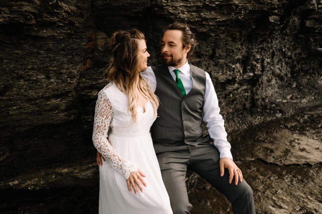 135 cliffs of moher elopement wedding photographer doolin