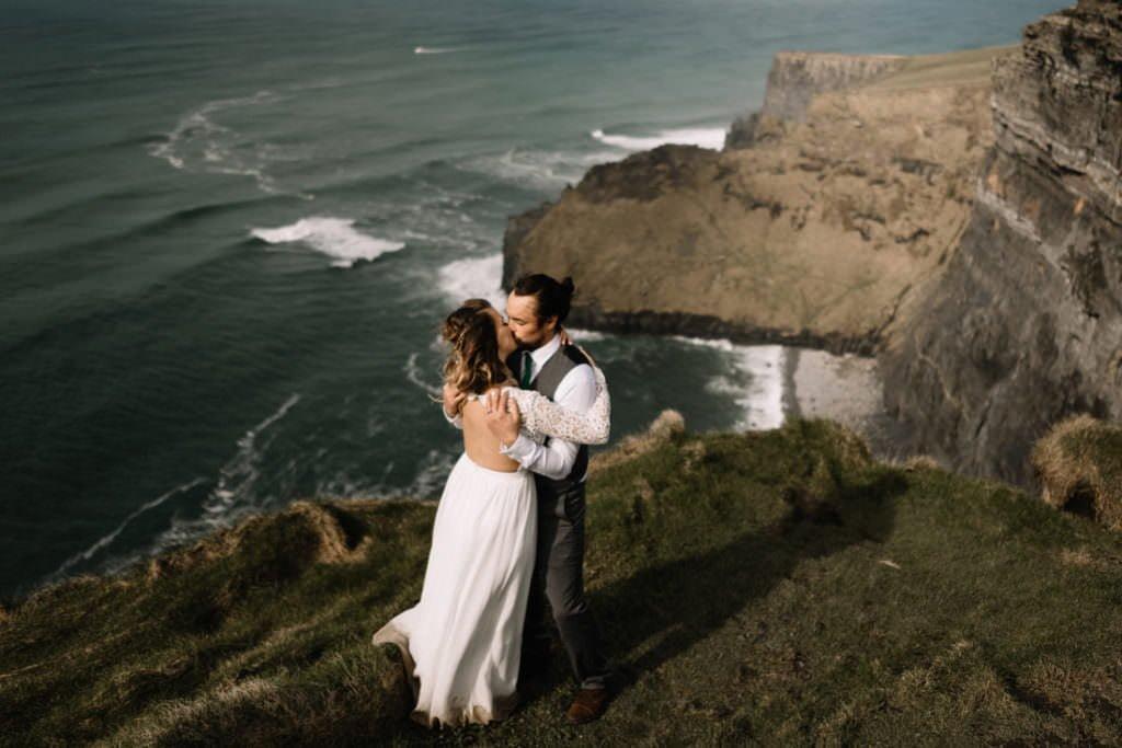137 cliffs of moher elopement wedding photographer doolin