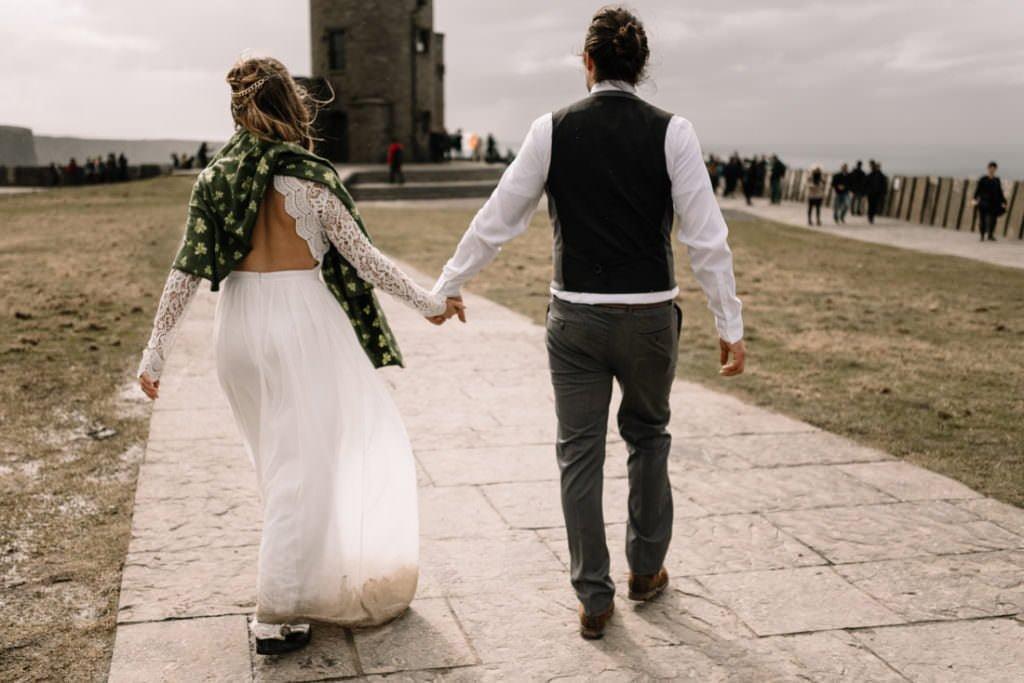 140 cliffs of moher elopement wedding photographer doolin