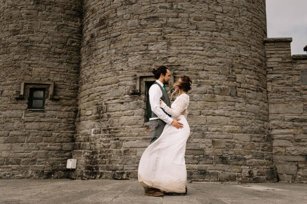 141 cliffs of moher elopement wedding photographer doolin