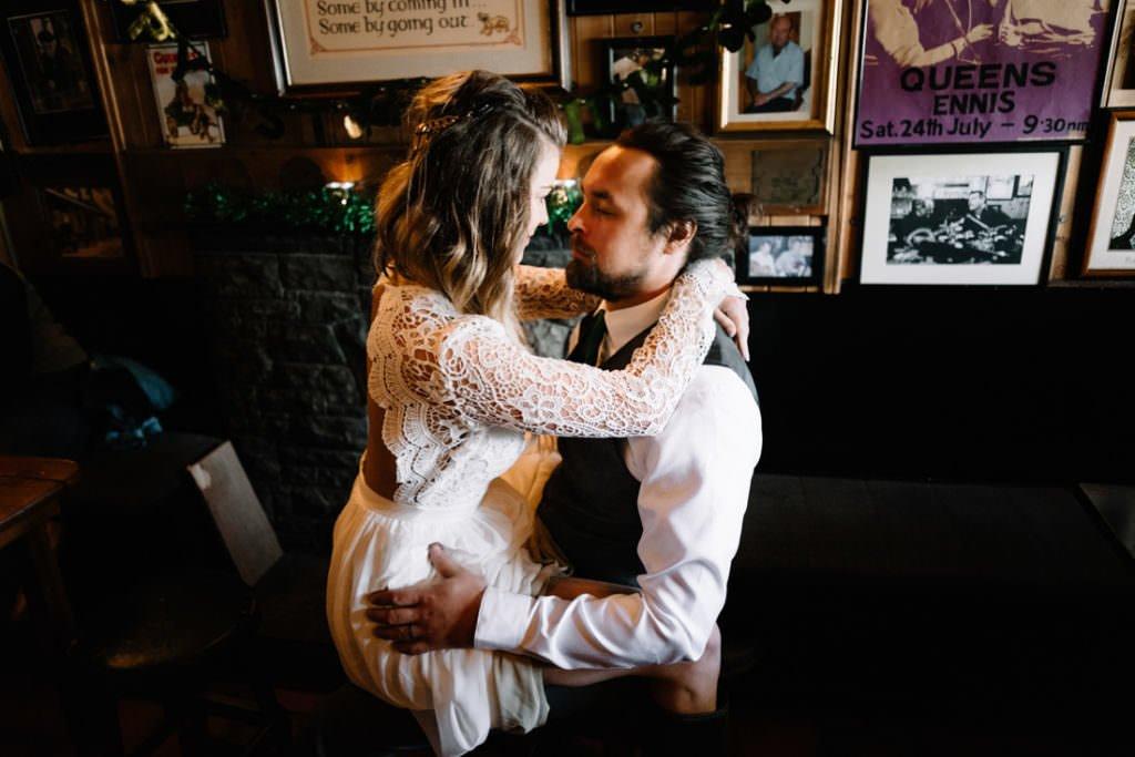 144 cliffs of moher elopement wedding photographer doolin