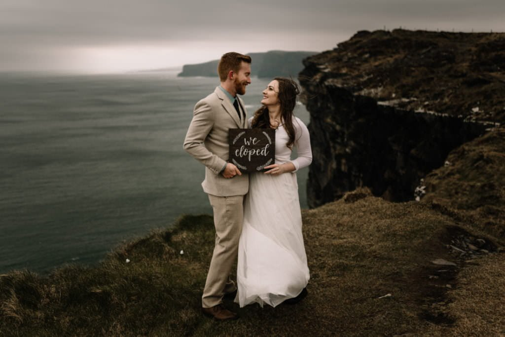 195 elope to ireland wedding photographer cliffs of moher