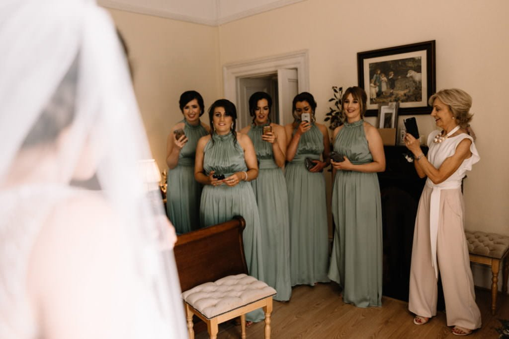 052 summer wedding at clonabreany house