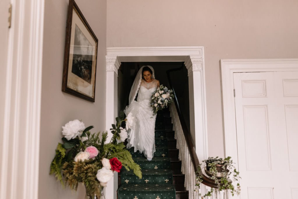 058 summer wedding at clonabreany house