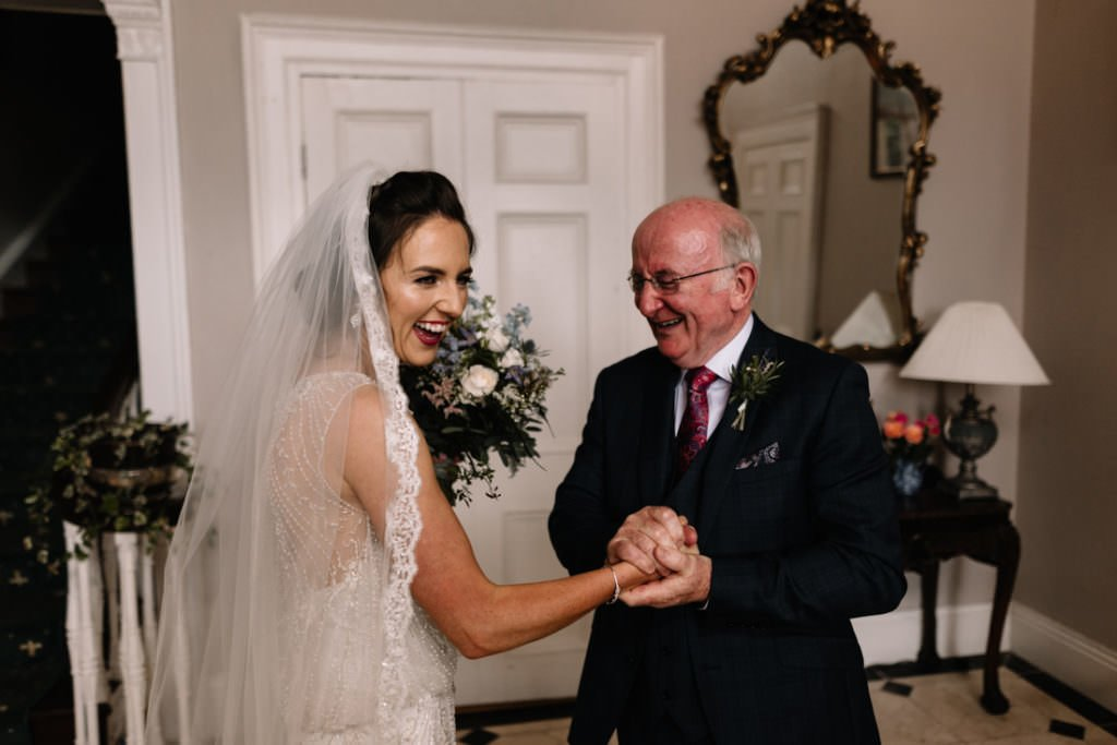 061 summer wedding at clonabreany house