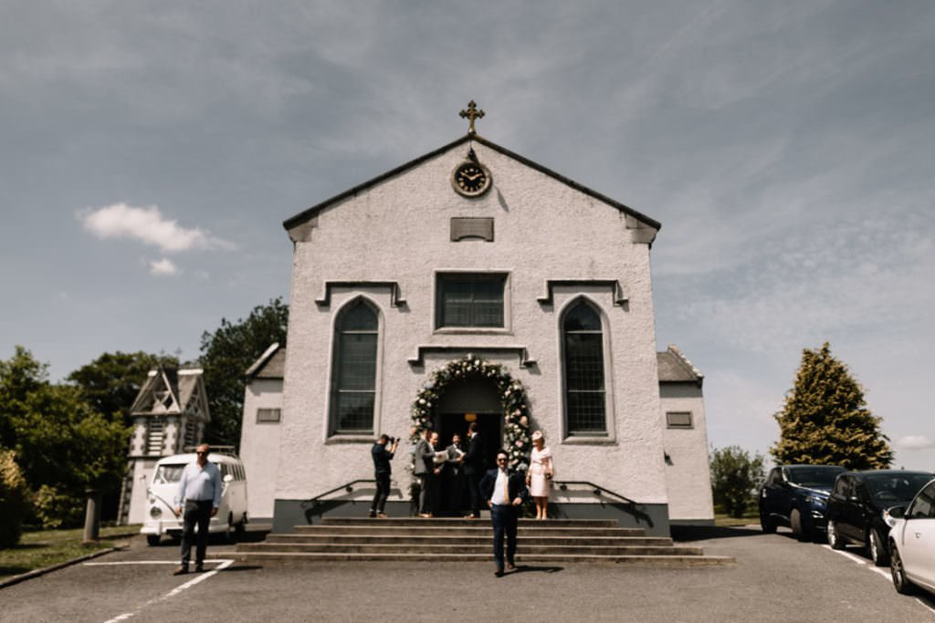 064 summer wedding at clonabreany house