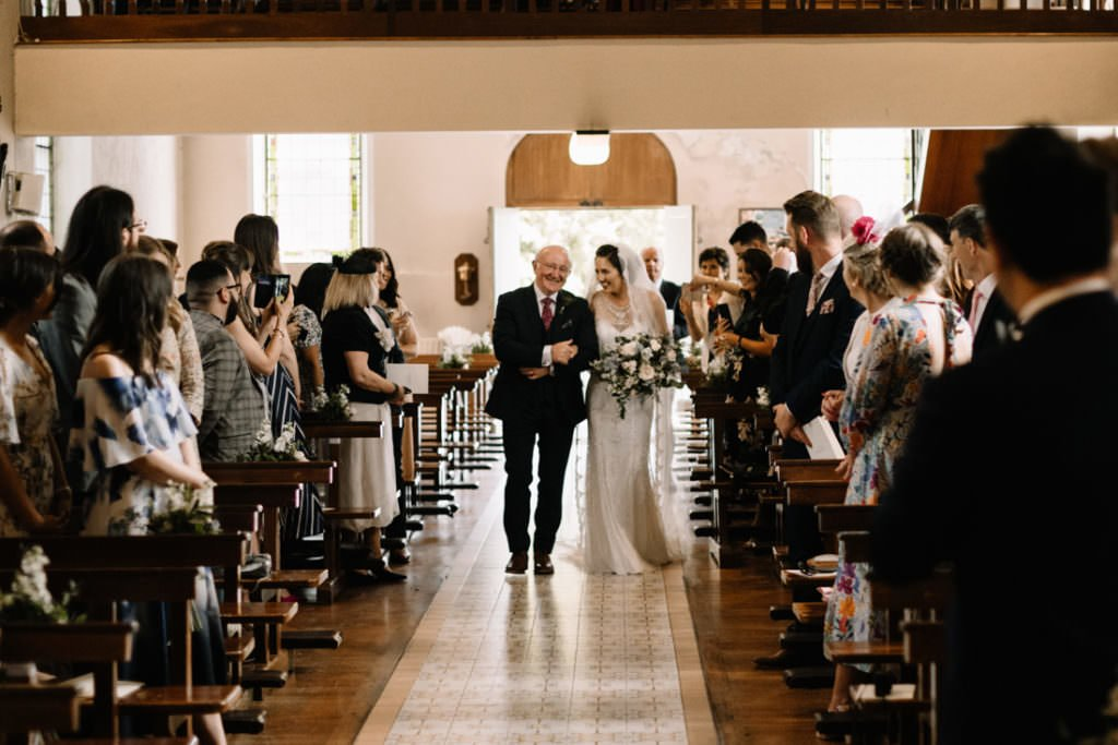 077 summer wedding at clonabreany house